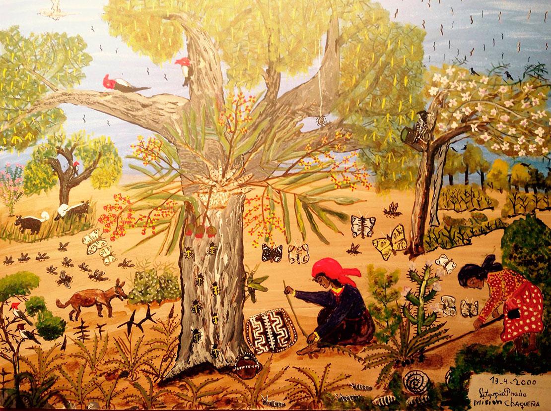 チャグアール ~ 夢を紡ぐウィチ族の織物